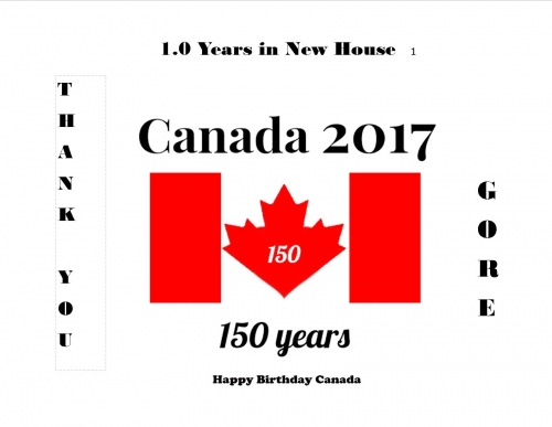 Happy 150th Canada Day Gore Brothers!